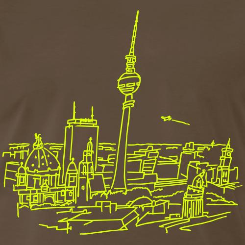 Berlin Panorama, Männer T-shirt