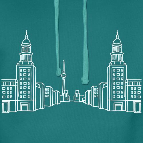 Frankfurter Tor, Berlin, Friedrichshain , Männer hoodie